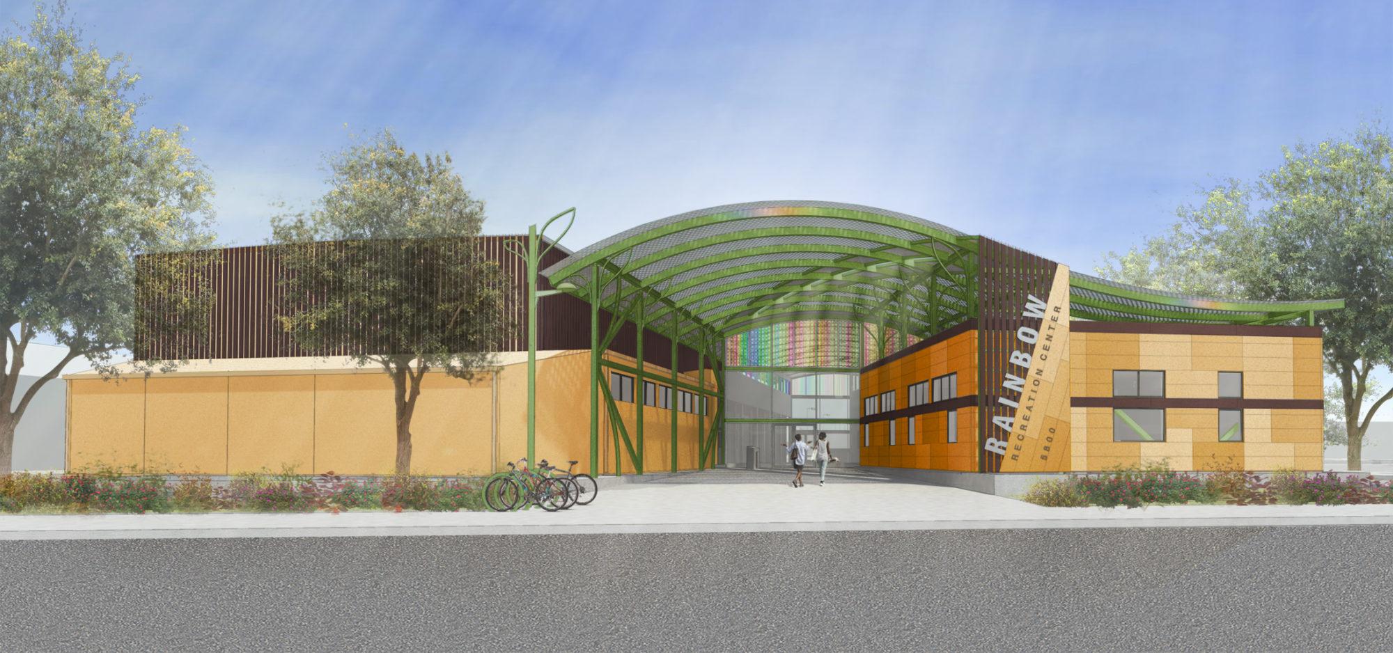 Rainbow Recreation Center Byrens Kim Design Works